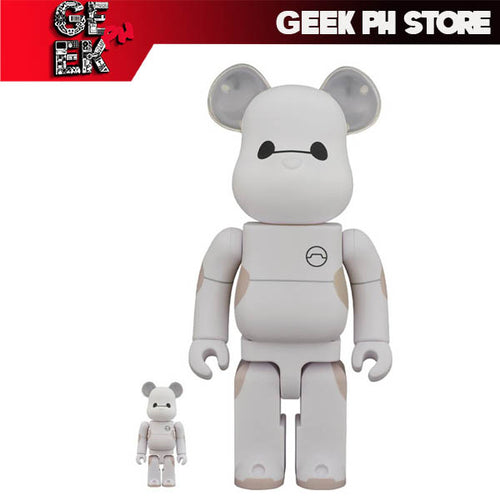 Medicom Bearbrick Baymax 400% and 100%  Be@rbrick Vinyl Figure