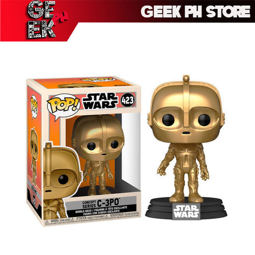 Funko Pop Star Wars Concept C3PO sold by Geek PH Store