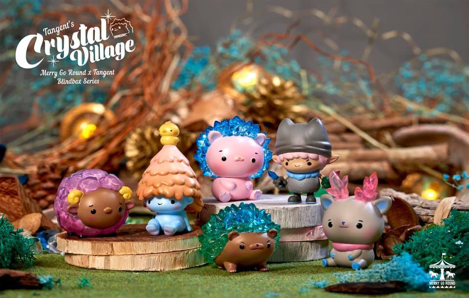CRYSTAL VILLAGE MINI SERIES BY TANGENT X MERRY GO ROUND X 19八3