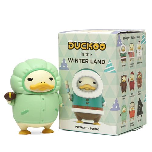 POP MART Duckoo Winter Land Mini Series Blind Box