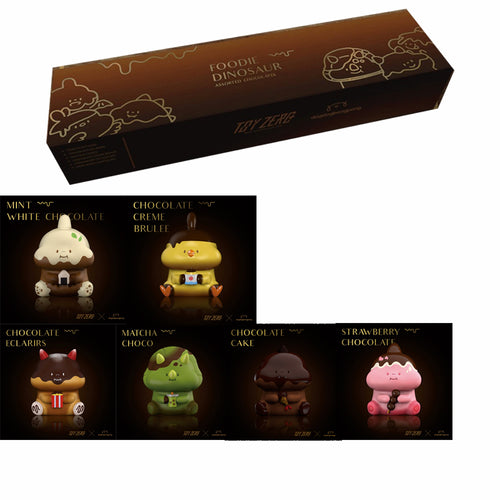 ToyZero Plus Foodie Dinosaur Assorted Chocolate Collection Box by Dogdogbengpeng