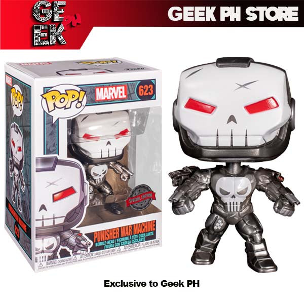 Funko Marvel Punisher War Machine Pop! Vinyl Figure Special Edition ( Exclusive to Geek PH )