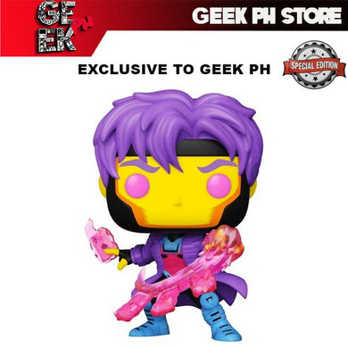 Funko POP! Marvel: X-Men Classic - Gambit (Blacklight) Exclusive to Geek PH ) FREE Boss Protector
