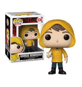 Funko Pop! It (2017) - Georgie with Boat Pop! Vinyl Figure