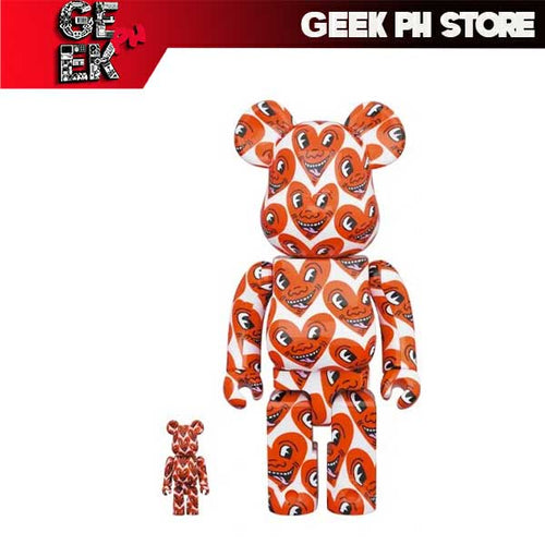 Medicom BE@RBRICK Keith Haring #6 100% & 400% set Bearbrick sold by Geek PH Store