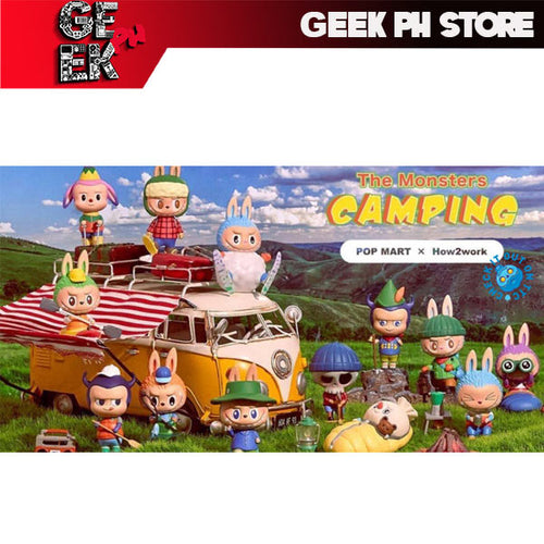 Pop Mart -  Labubu The Monsters Camping