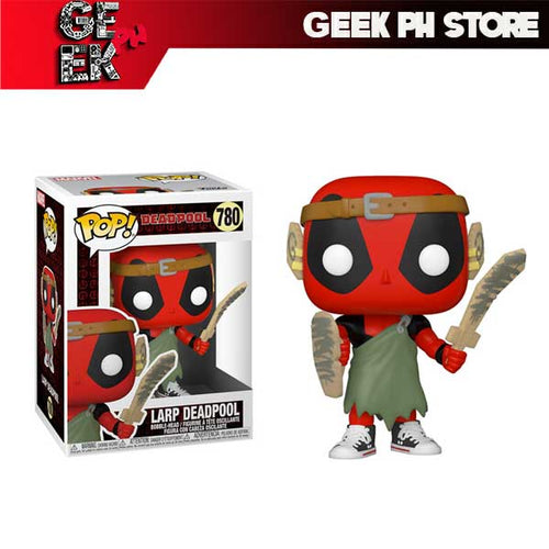 Funko Pop Deadpool 30th Anniversary Larp Deadpool Pop! Vinyl Figure sold by Geek PH Store