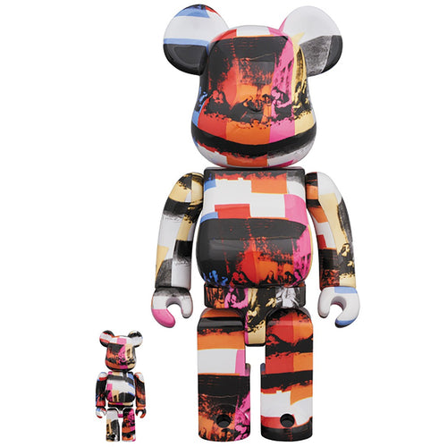 Medicom Be@rbrick  400% 100% Andy Warhol Last Supper Bearbrick Vinyl Figure