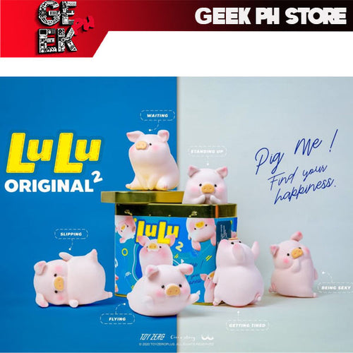 Toyzero Plus LuLu The Piggy - Lulu in Can Series 2