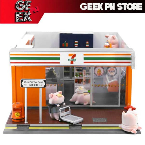 Lulu Pig x 7-Eleven Compete Set of 12 with Convenience Store