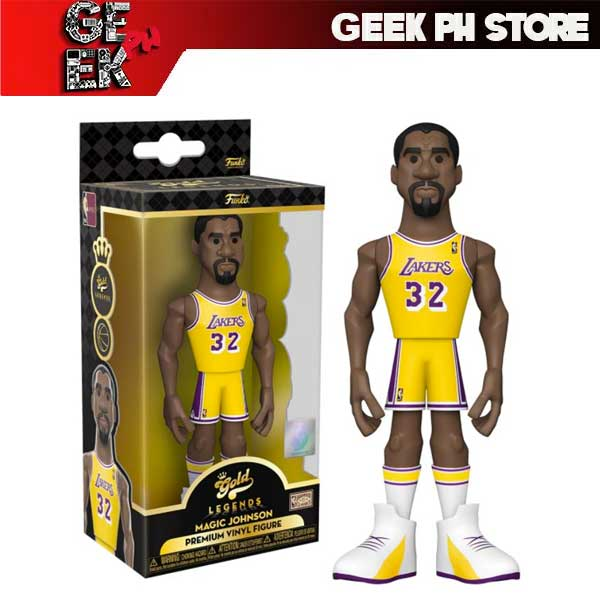 Funko POP NBA: Legends- Magic Johnson (Lakers home)