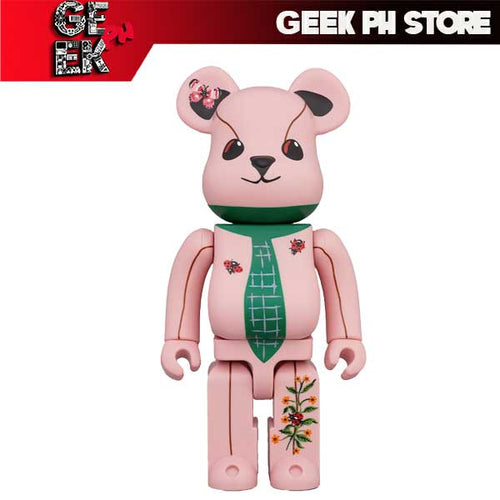 Medicom BE@RBRICK Nathalie Lété Ours a la cravate 400% Bearbrick sold by Geek PH Store