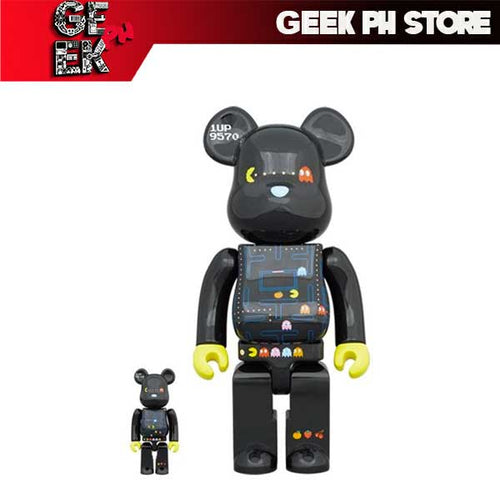 Medicom Be@rbrick Pac-Man 400 and 100% Bearbrick sold by Geek PH Store