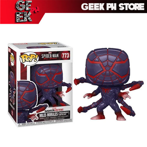 Funko Pop Spider-Man Miles Morales Game Programmable Suit sold by Geek PH Store