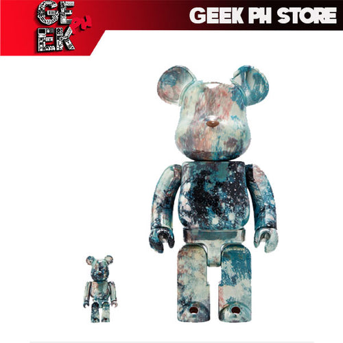 Medicom BE@RBRICK Pushead#5 100 % & 400 % set