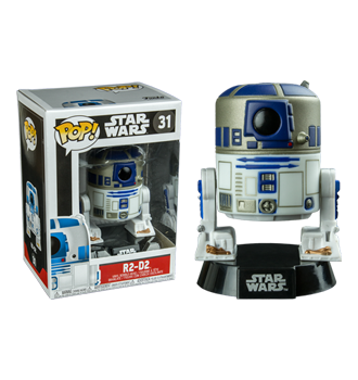 Funko Pop! Star Wars - R2-D2 Pop! Vinyl Bobble Head Figure