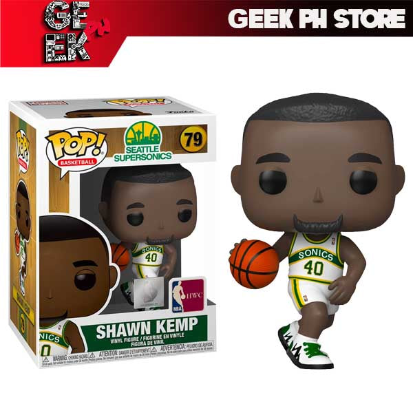Funko POP NBA: Legends- Shawn Kemp (Sonics home)