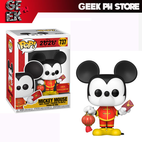 Funko Disney: Mickey Mouse - Chinese New Year Zodiac ASIA EXCLUSIVE