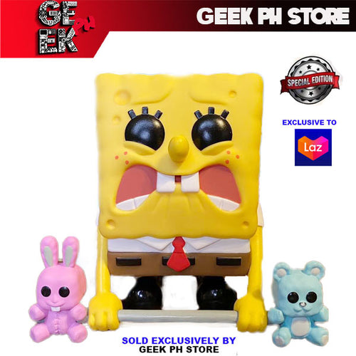 Funko Pop Animation Spongebob Weightlifiting ( Exclusive to Geek PH Store )