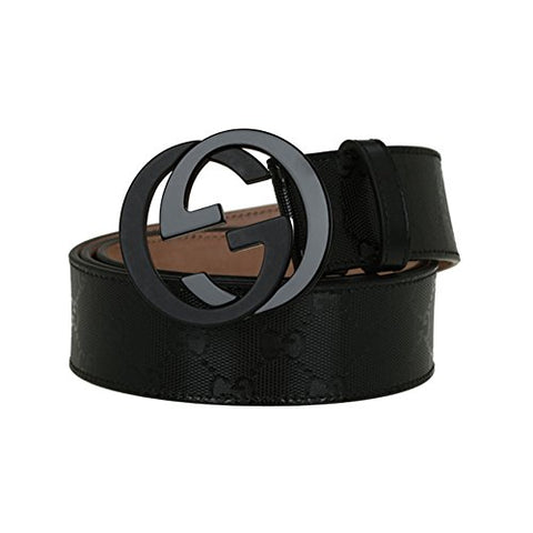 Gucci Blackout Belt