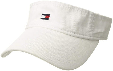 Tommy Hilfiger Men's Dad Hat Flag Solid Cotton Visor
