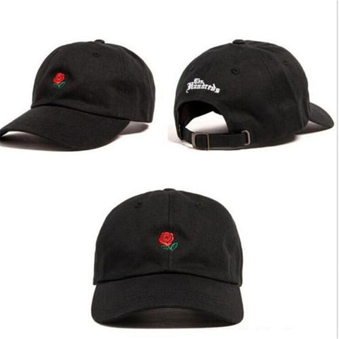 "The Hundreds ""Rose"" Embroidered Hat"