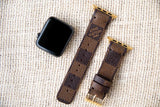 Louis Vuitton Damier Ebene Apple Watch Straps