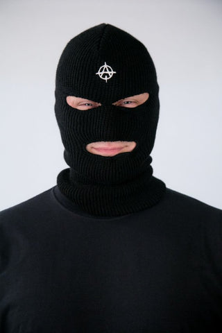 Authority is the Enemy ski mask