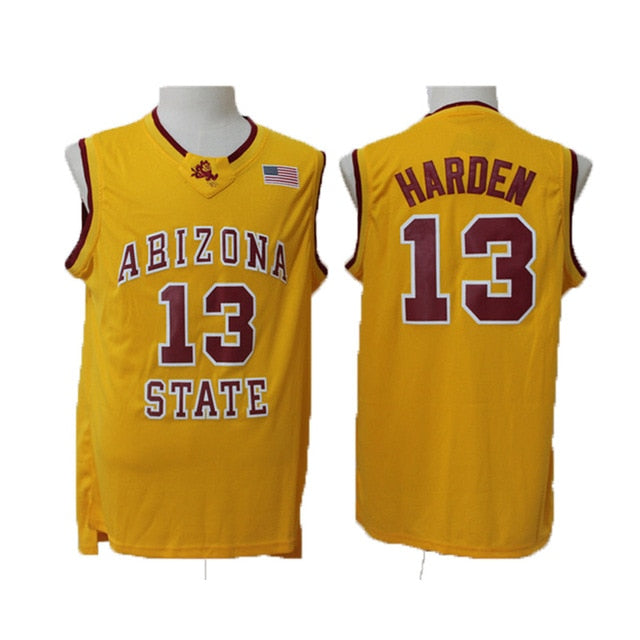 low priced 312e6 c847a James Harden #13 Arizona State Throwback Jersey