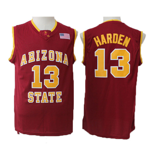 low priced af443 c6ace James Harden #13 Arizona State Throwback Jersey