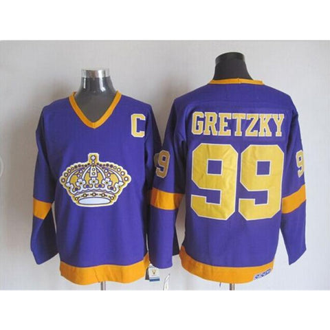 Wayne Gretzky #99 Los Angeles Kings Throwback Jersey - Primo Jerseys