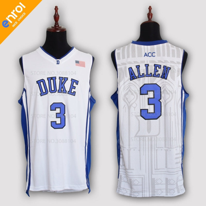 official photos 4f7a4 01b7a Grayson Allen #3 Duke University Throwback Jersey – Primo ...