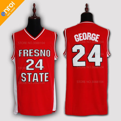 Paul George #24 Fresno State Throwback Jersey - Primo Jerseys