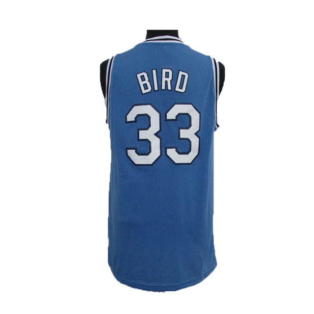 best service fa3d1 c4ab9 Larry Bird #33 Indiana State Throwback Jersey