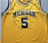 Jalen Rose #5 University of Michigan Throwback Jersey - Primo Jerseys