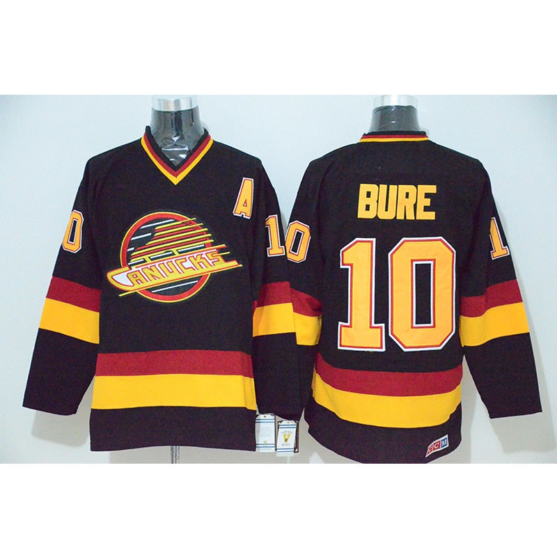 310244628 Pavel Bure  10 Vancouver Canucks Throwback Jersey – Primo Supply Co.