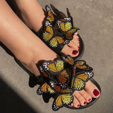 Cosysandals Fashion Women Summer Open Toe Low Heel Bohemian Sandals