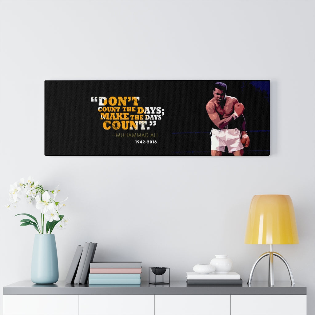 Muhammad Ali Boxing Art Vertical Art