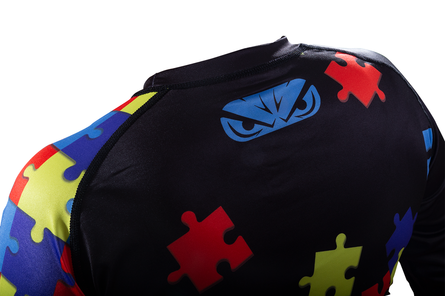 NinjaGrappling Autism Awareness Rashguard