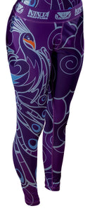 NinjaGrappling Ladies Peacock Spats