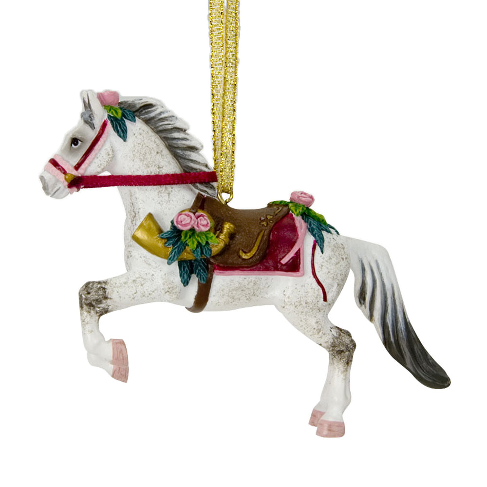 trail of painted ponies victorian christmas horse ornament