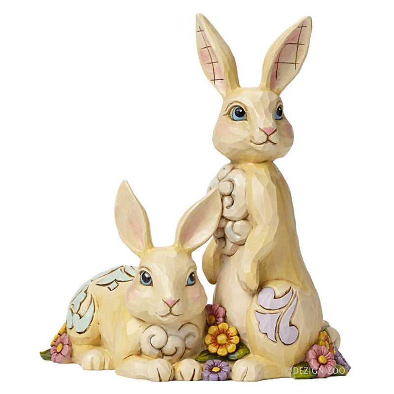 jim shore honey bunnies figurine