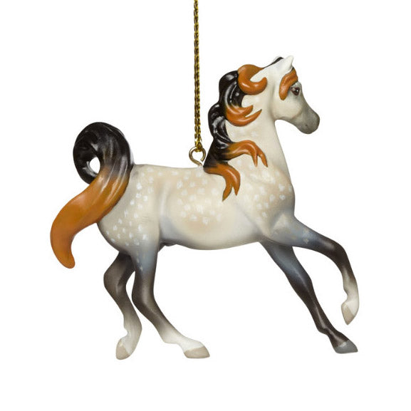 trail of painted ponies arabian horse ornament right view
