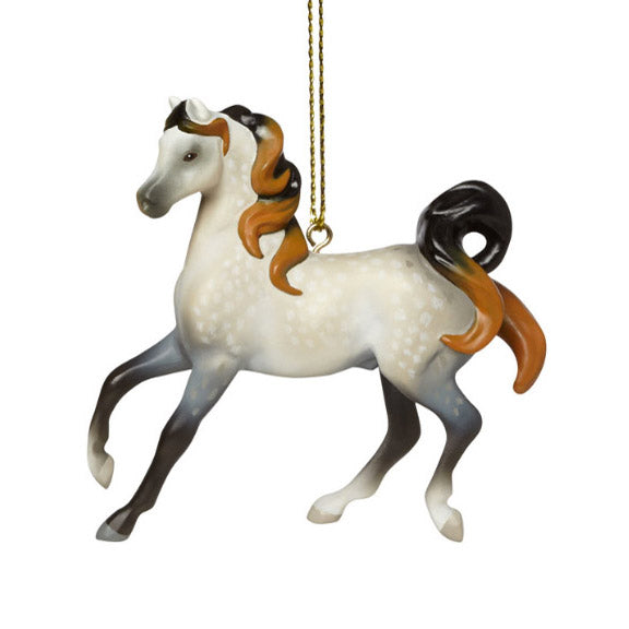 trail of painted ponies arabian horse ornament