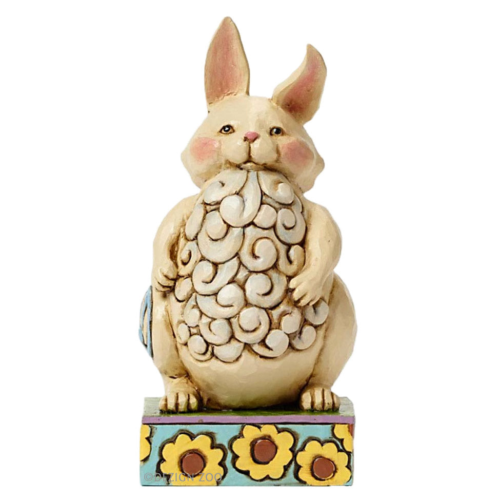 jim shore lazy bunny figurine