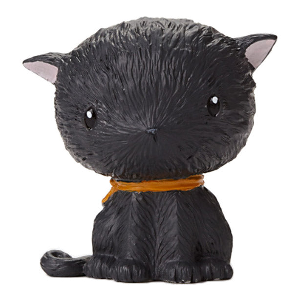 stacey yacula mini black cat figurine