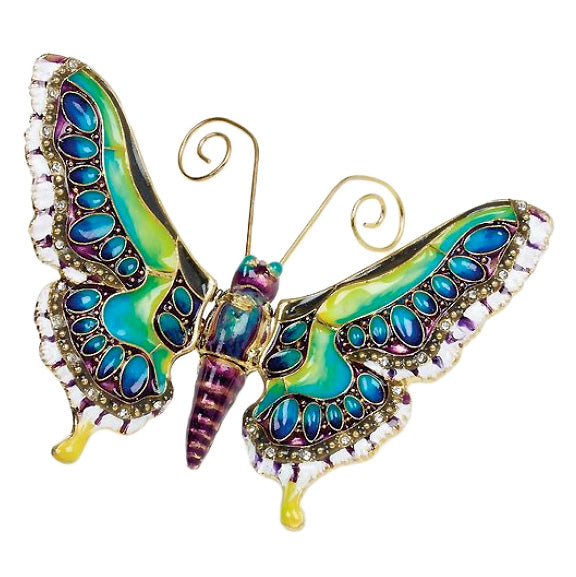 articulated butterfly hanging figurine ornament