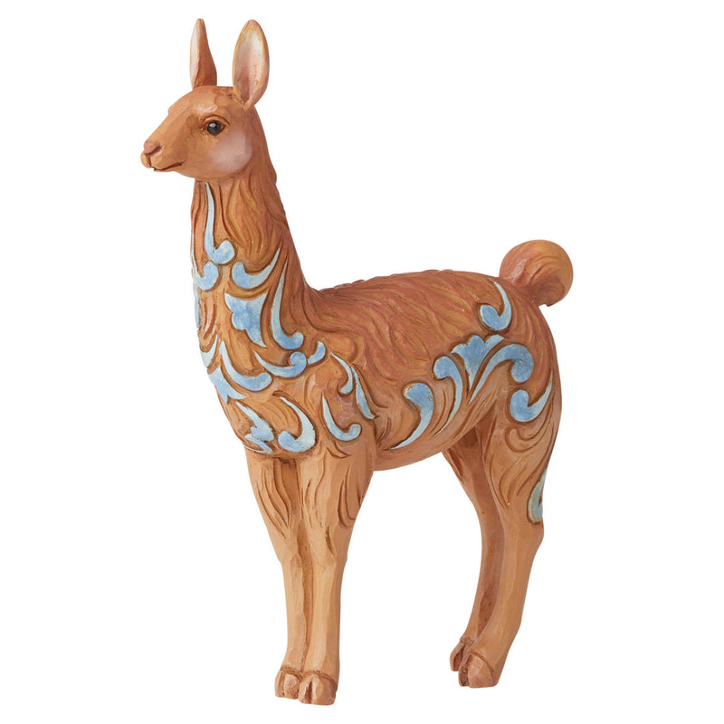 jim shore mini llama collectible figurine