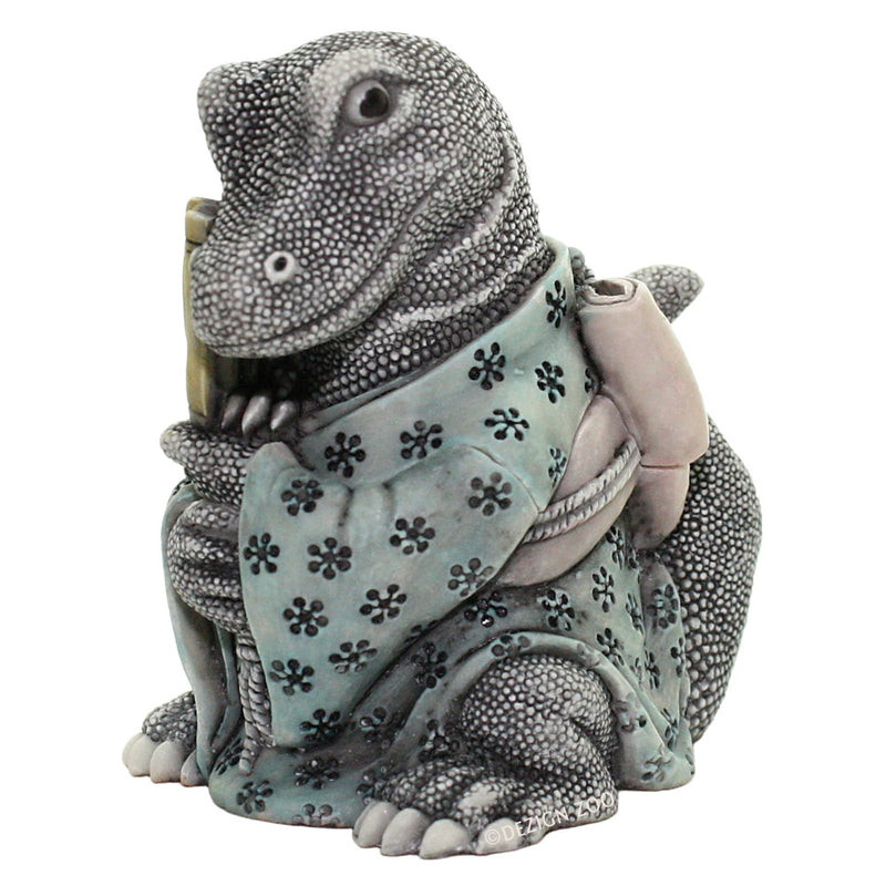 harmony kingdom kiyo's revenge dragon box figurine view 4
