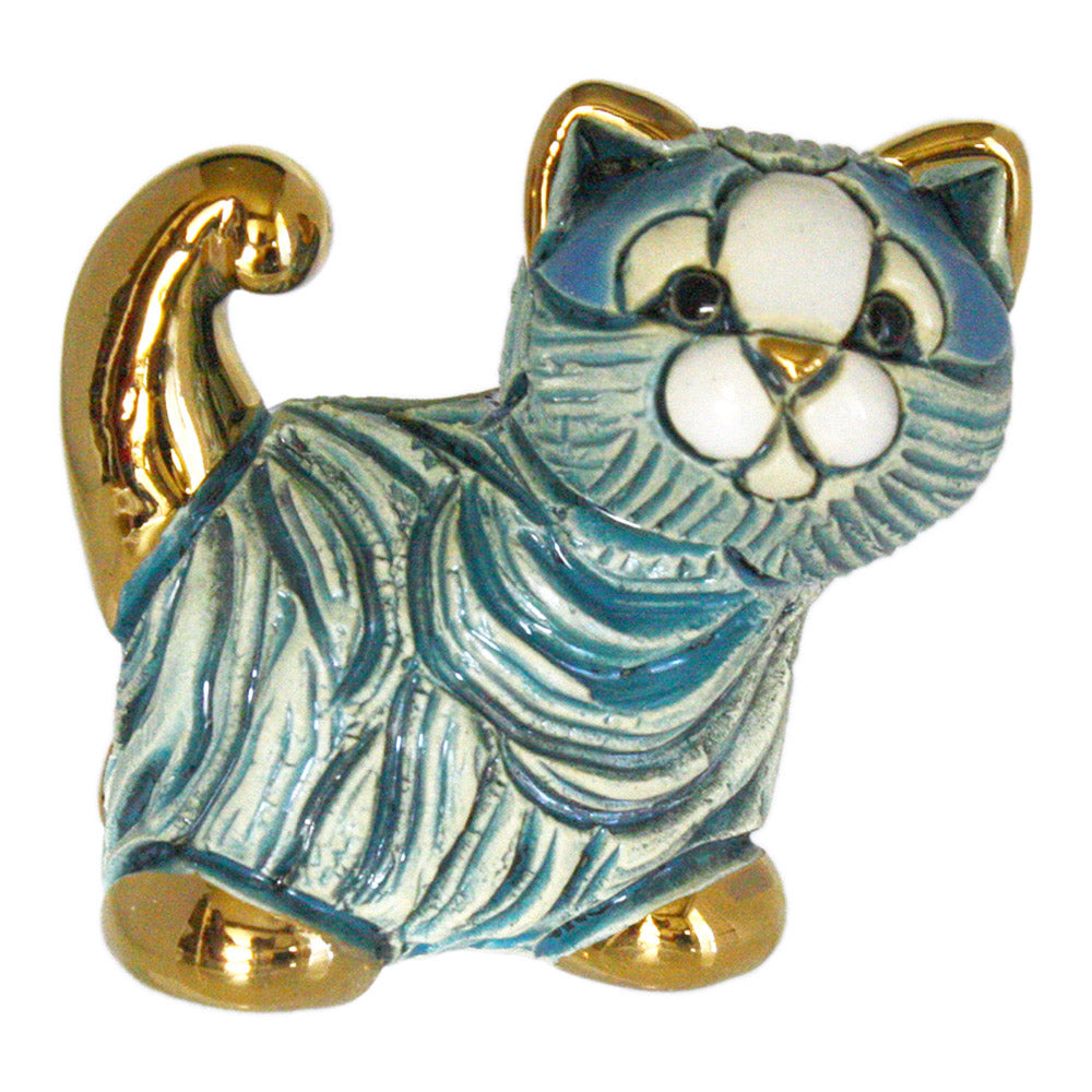 de rosa M05 ceramic mini cat figurine